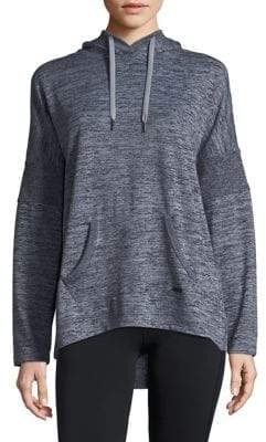 Andrew Marc Performance Hooded Drop-Shoulder Tunic