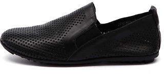 Django & Juliette New Bescara Black Womens Shoes Casual Shoes Flat