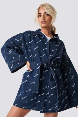 Na Kd Trend Logo denim Kimono