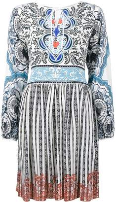 Mary Katrantzou Lucie Back of Cards dress