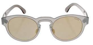 RetroSuperFuture Super by Reflective Tint Sunglasses