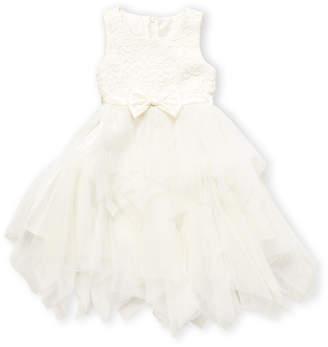 American Princess (Toddler Girls) Lace Bow Dress