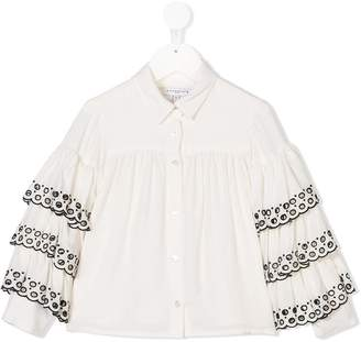 Givenchy Kids embroidered Iconic shirt