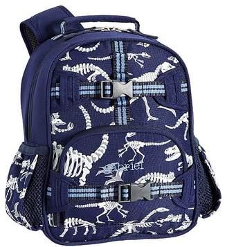 Pottery Barn Kids Mackenzie Blue Dino Glow-in-the-Dark Backpacks