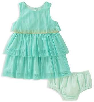Kate Spade Girls' Tiered Pleated Dress & Bloomers Set - Baby