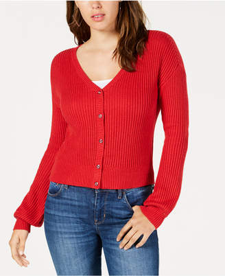 GUESS Drop-Shoulder Cardigan Sweater