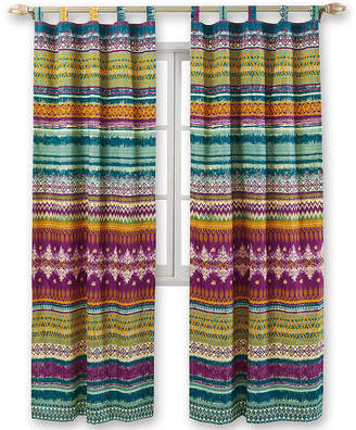 Greenland HOME FASHIONS Home Fashions Southwest 2-Pack Tab-Top Curtain Panels