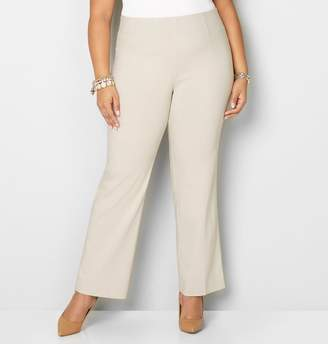 Avenue Super Stretch Pull-On Bootcut Pant