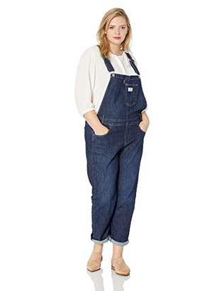 Levi's Women's Plus-Size Overall Jeans
