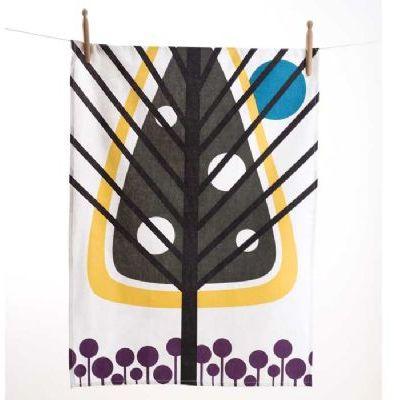 Pine Tree Tea Towel