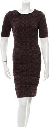 Vera Wang Textured Crew Neck Dress $110 thestylecure.com