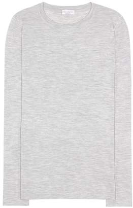 Brunello Cucinelli Cashmere and silk top