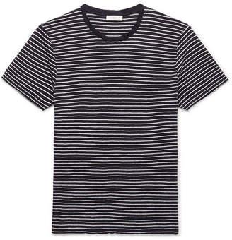 Sandro Striped Linen T-Shirt