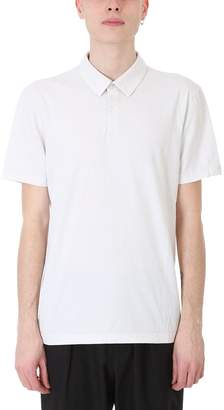 James Perse Beige Cotton Polo