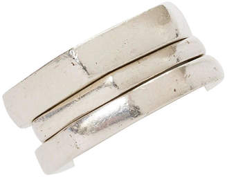 One Kings Lane Vintage Gucci Sterling Silver Stack Rings - Set of 3