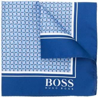 HUGO BOSS square pocket square