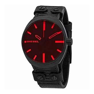 Diesel Men's 'Klutch' Quartz Stainless Steel and Leather Casual Watch