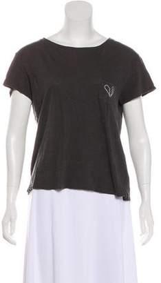 Rag & Bone Short Sleeve Jersey Top