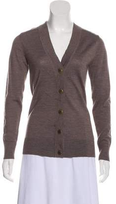Tory Burch Button-Up Long Sleeve Cardigan