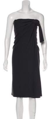 Marc Jacobs Wool Sleeveless Knee-Length Dress