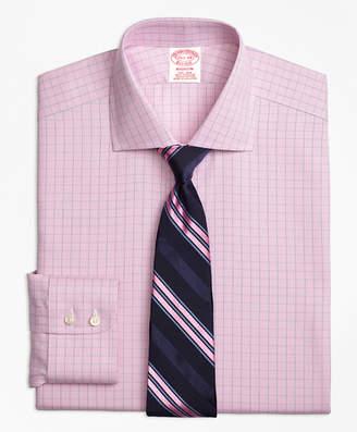 Brooks Brothers Madison Classic-Fit Dress Shirt, Non-Iron Windowpane