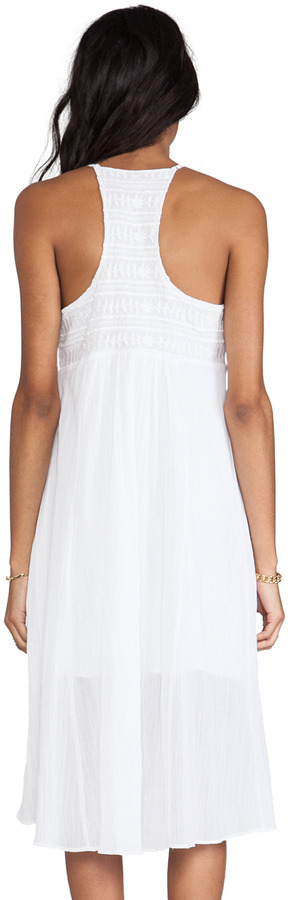 Plenty by Tracy Reese Novelty Embroidery Embellished Slip