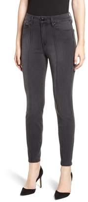 Good American Good Legs Pintuck Skinny Jeans