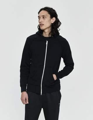 Velva Sheen 8 oz. Hooded Zip-Up in Black