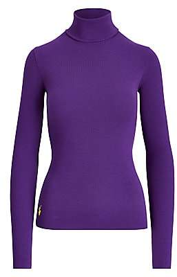 Polo Ralph Lauren Women's Ribbed Turtleneck Sweater