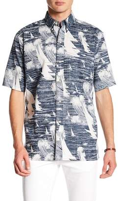 Reyn Spooner Kona Winds Printed Classic Fit Shirt