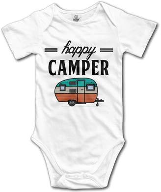 Camper Drbabyclothes Happy Camping Outdoor Baby Girls/Boys Onesies