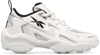 Reebok off-white DMX Series 1600 chunky low-top leather sneakers