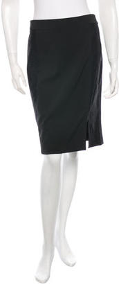 La Perla Paneled Knee Length Skirt $75 thestylecure.com
