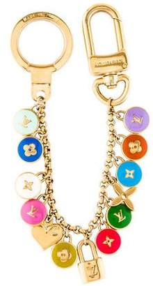 Louis Vuitton Enamel Logo Bag Charm