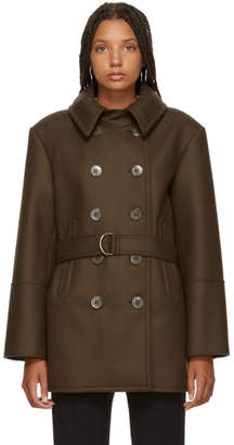 Chloé Brown Short Trench Coat