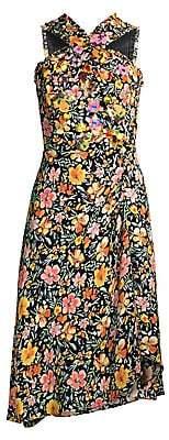 Kobi Halperin Women's Steph Embellished Floral Halter Dress