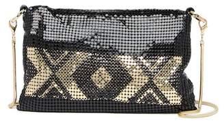 Whiting & Davis Geo Tile Edge Mini Crossbody Bag