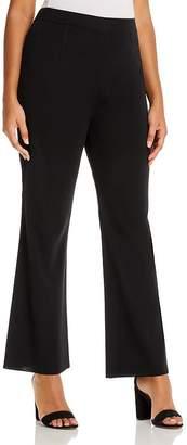 Misook Plus Wrinkle-Resistant Knit Bootcut Pants