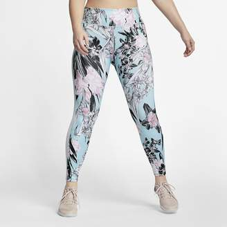 eddf8ff9f5 Nike Women s Floral Training Tights (Plus Size One