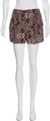 The Kooples High-Rise Mini Shorts