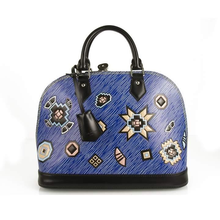 Alma leather handbag