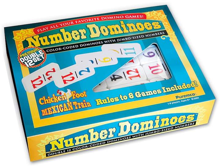 Puremco Number Dominoes Double 12 Set by Puremco