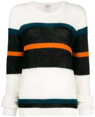 Loewe striped slouchy sweater