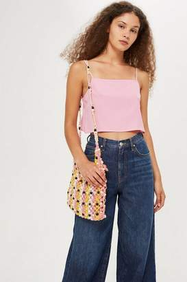 Topshop Petite Square Neck Camisole Top