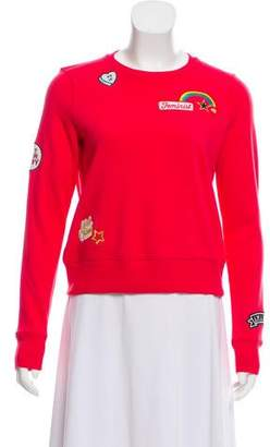 Rebecca Minkoff Patch Appliqué Sweatshirt