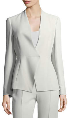Armani Collezioni Asymmetric Cady Jacket
