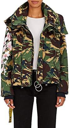 Off-White Women's M65 Floral Camouflage Field Coat