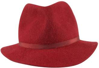 Gianni Versace Vintage Red Wool Hats