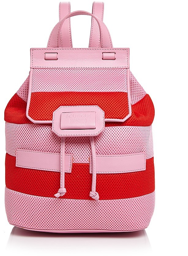 Moschino Boutique Moschino Honeycomb Backpack