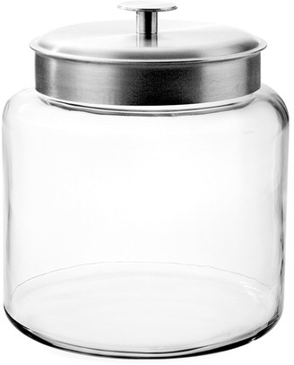 Anchor Hocking 1.5-Gallon Montana Jar with Brushed Metal Lid